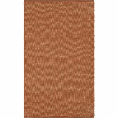 Kewanee Hand-Woven Camel/Wheat Area Rug Rug Size: Rectangle 5 x 76