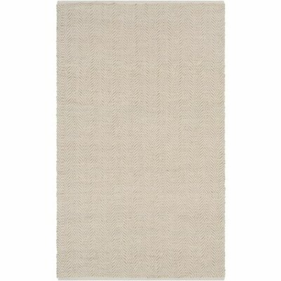 Kewanee Hand-Woven Khaki/Wheat Area Rug Rug Size: Rectangle 2 x 3