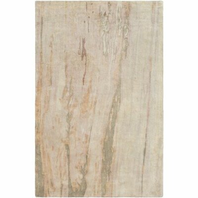 Adrian Hand-Tufted Olive/Blush Area Rug Rug Size: 2 x 3