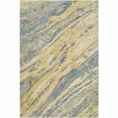 Stephan Hand-Tufted Sage/Teal Area Rug Rug Size: 8 x 10