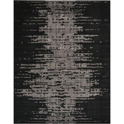 Stanton Black/Gray Area Rug Rug Size: 79 x 99
