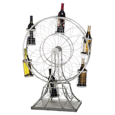 Bradford Ferris Wheel 5 Bottle Tabletop Wine Rack