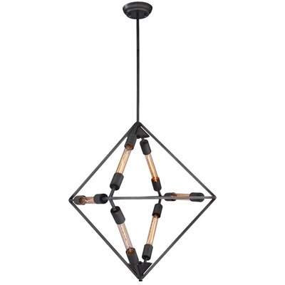 Nori 6-Light Geometric Pendant