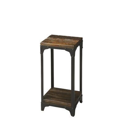 Duncan End Table Color: Black