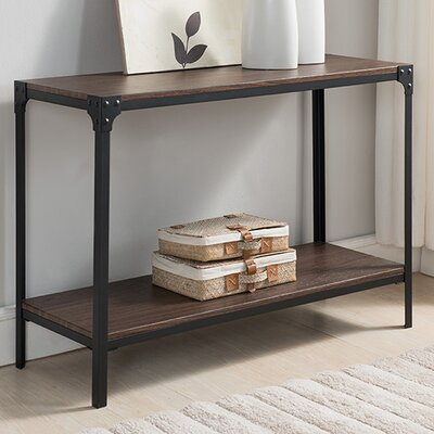 Ajax Wood/Metal Console Table