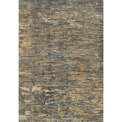 Ryder Brown Area Rug Rug Size: Rectangle 96 x 132