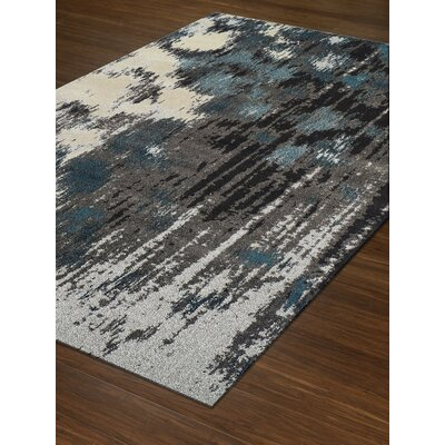 Dylan Gray Area Rug Rug Size: Rectangle 53 x 77