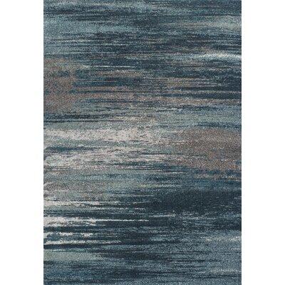 Elias Gray/Teal Area Rug Rug Size: 710 x 107