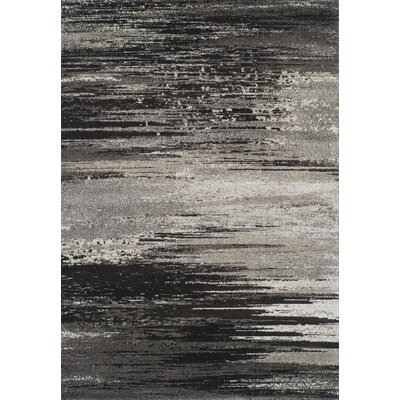 King Peak Pewter Area Rug Rug Size: Rectangle 53 x 77