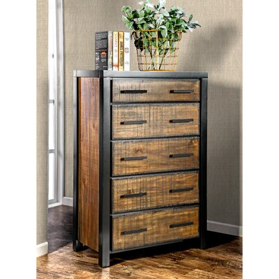 Topher 5 Drawer Chest