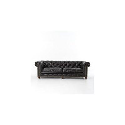 Lyman Sofa Upholstery: Old Saddle Black