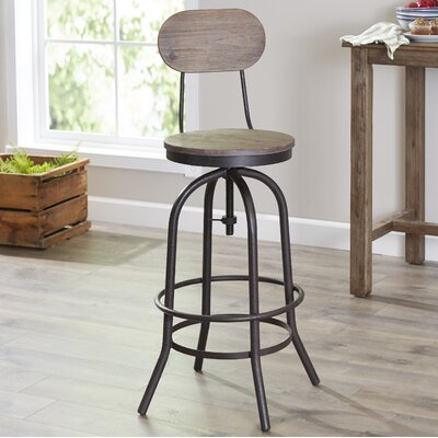 Howe Adjustable Height Bar Stool