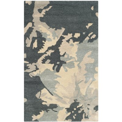 Cheap Marina Steel Blue Area Rug Rug Size Runner 2 3 x 6  for sale