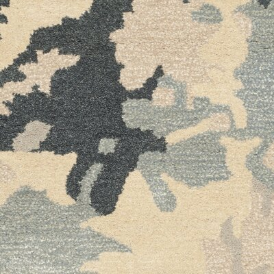 Adan Steel Blue Area Rug Rug Size: Rectangle 4 x 6