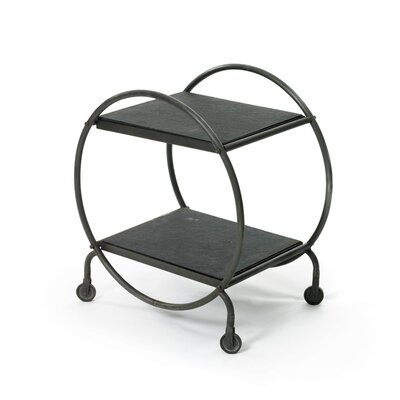 Victor Hoop End Table