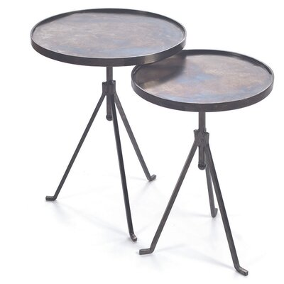 Wilbert 2 Piece End Table Set