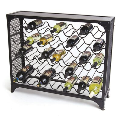 Zachary 35 Bottle Floor Wine Rack