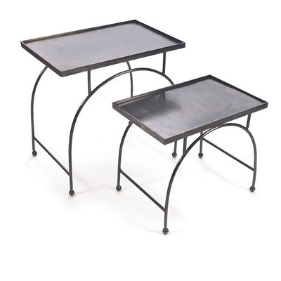 Bailey 2 Piece Nesting Table Set
