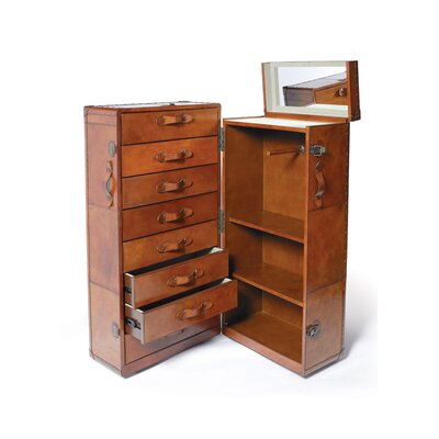 Elton Trunk and Armoire