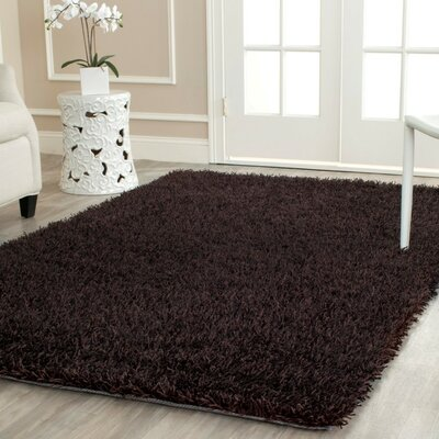 Carrol Chocolate Rug Rug Size: Rectangle 4 x 6
