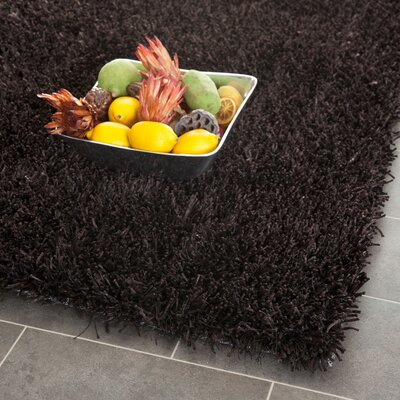 Carrol Chocolate Rug Rug Size: 5 x 8