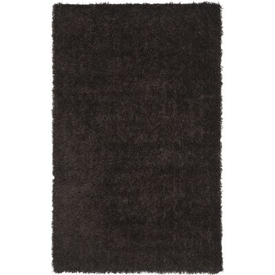 Carrol Chocolate Rug Rug Size: Rectangle 8 x 10