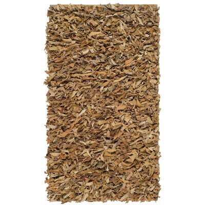 Carrol Light Gold Rug Rug Size: 3 x 5