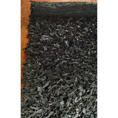 Carrol Black Area Rug Rug Size: 8 x 10