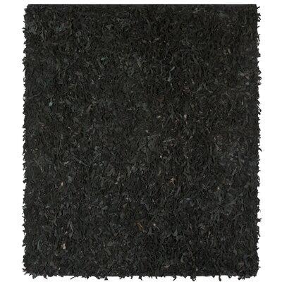 Carrol Black Area Rug Rug Size: Square 6