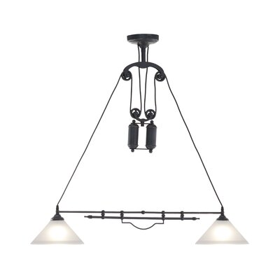 Oscar 2-Light Kitchen Island Pendant