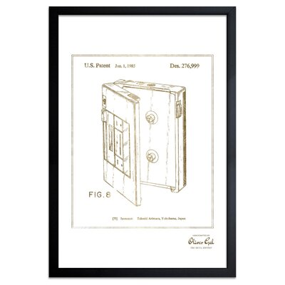 'Cassette Player 1985' Framed Drawing Print WLFR2347 39940507