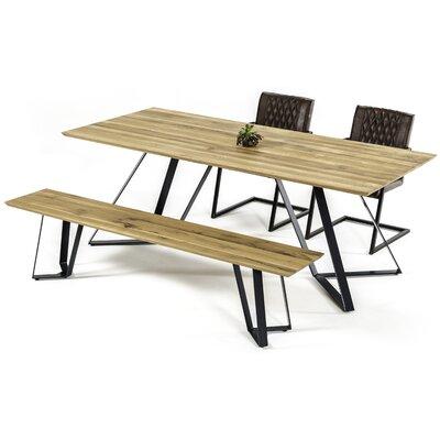 Roslyn Drift Wooden Dining Table