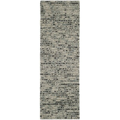 Silvia Hand-Wovn Natural Area Rug Rug Size: Runner 26 x 8