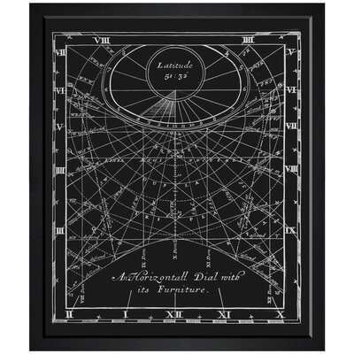 Horizontal Dial Framed Graphic Art TADN9420 37309674