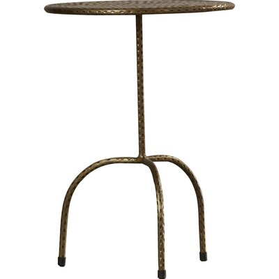 Luanna Pedestal End Table