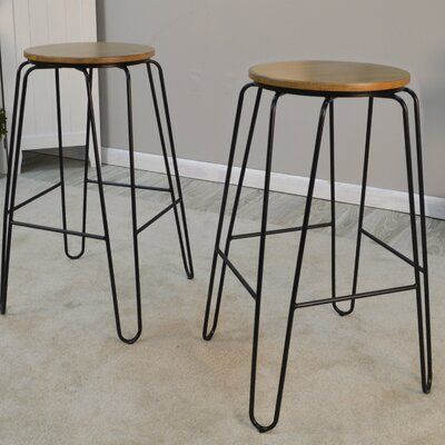 Kingscanyon 29 Bar Stool Finish: Maple