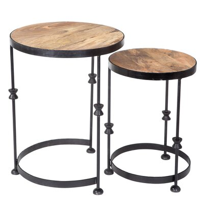 Firebaugh 2 Piece Nesting Tables