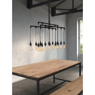 Grayling 16-Light  Sputnik Chandelier
