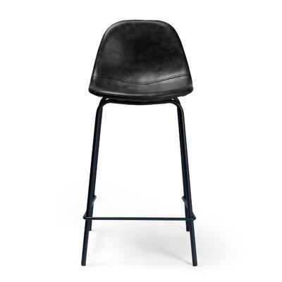 Lafayette 23.5 Bar Stool Upholstery: Charcoal