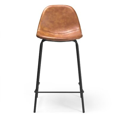 Lafayette 23.5 Bar Stool Upholstery: Honey