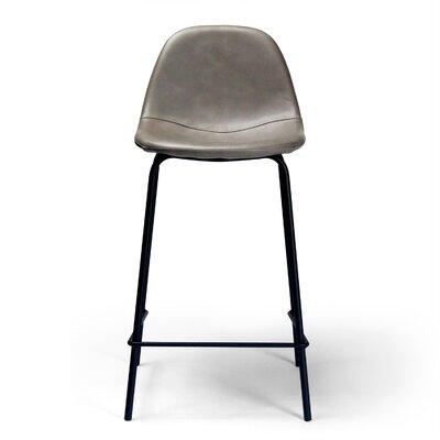 Lafayette 23.5 Bar Stool Upholstery: Smoke