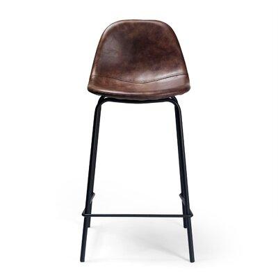 Lafayette 23.5 Bar Stool Upholstery: Tobbaco