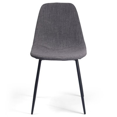 Lafayette Side Chair in Fabric - Gray