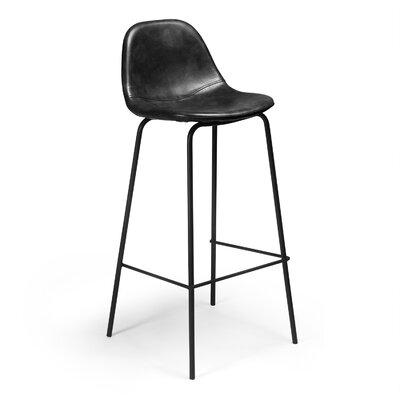 Lafayette 30.5 Bar Stool Upholstery: Charcoal