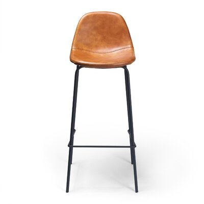 Lafayette 30.5 inch Bar Stool Upholstery: Honey