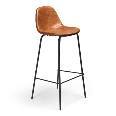 Lafayette 30.5 Bar Stool Upholstery: Honey