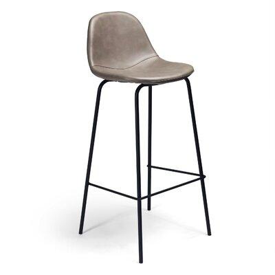Lafayette 30.5 Bar Stool Upholstery: Smoke