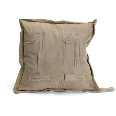 Athens Canvas Throw Pillow