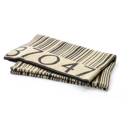 Cardington Barcode Wool Throw