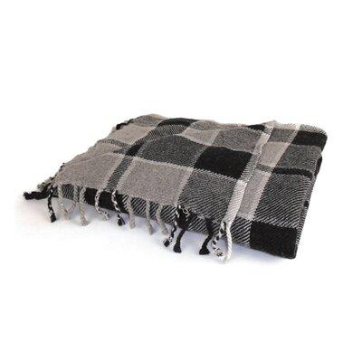 Keene Plaid Wool Throw